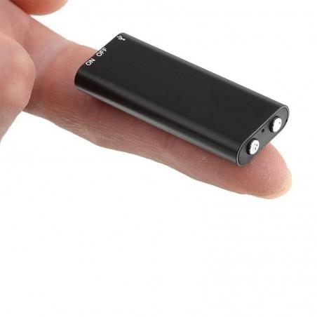 Mini micro enregistreur jusqu'à 10 heures