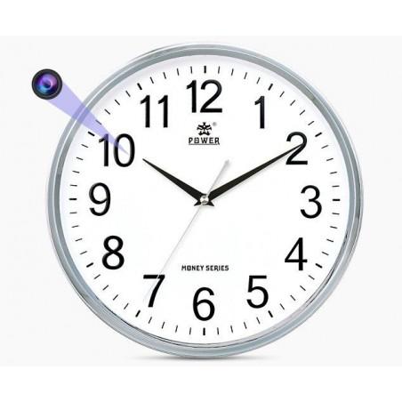 Caméra Full HD Horloge murale détection de mouvement