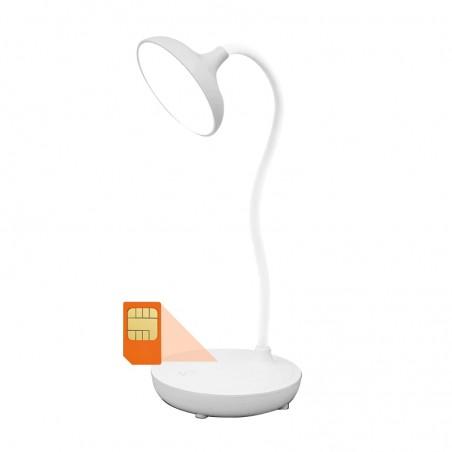 Lampe micro GSM écoute en temps réel avec batterie